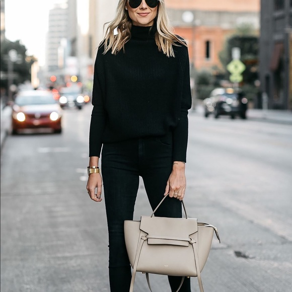 62cee3d7 Zara Sweaters | Nwt Ribbed Cashmere Turtleneck Sweater | Poshmark